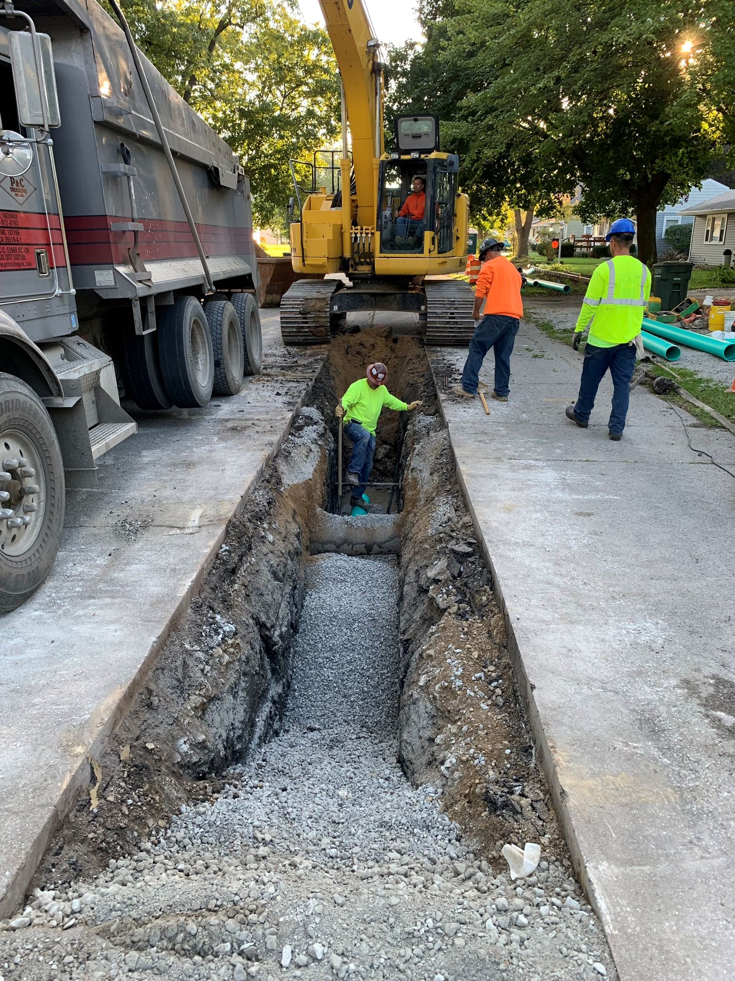 Randle St Sewer Main Replacement