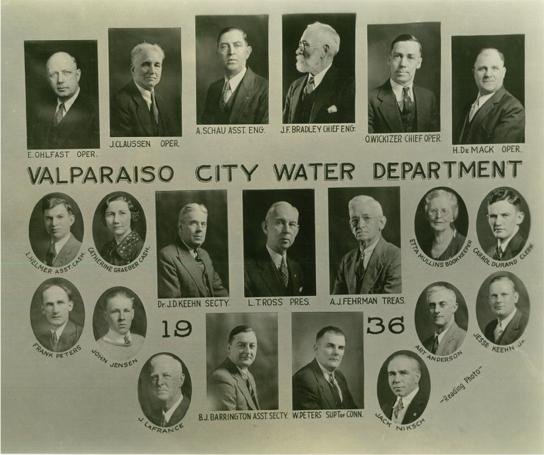 Water Utility Board & Staff (1936)